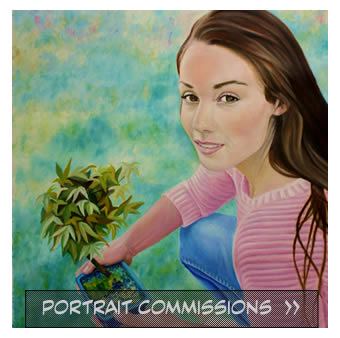 Portrait Commissions - Cynthia Hargraves